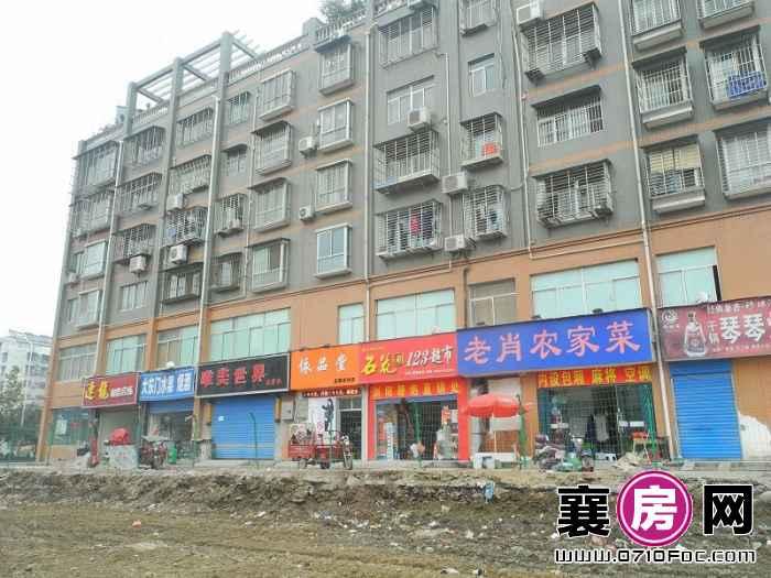 庞公春晓项目西侧200米内购物街道(2013-11-13)