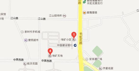 白马广场地矿小区