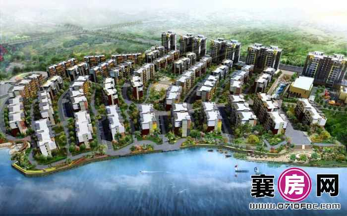 东湖国际花园望湖整体规划效果图