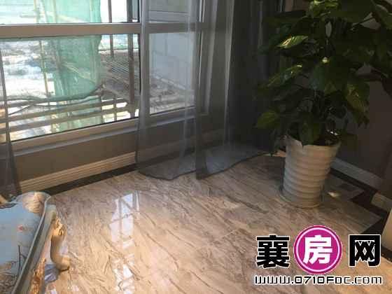 中建·状元府C1样板间客厅阳台