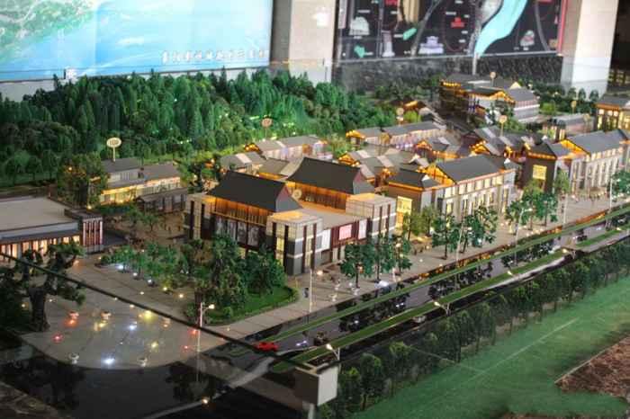 唐人街实景图
