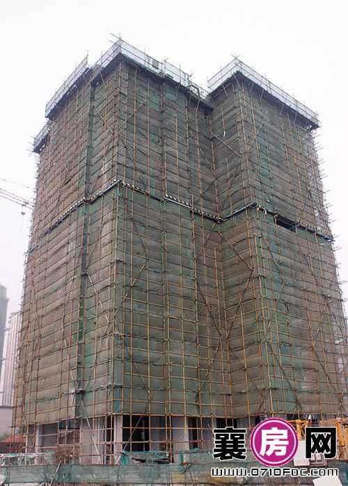 4#楼已建至11层左右