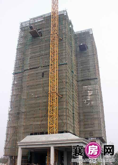 项目1#楼建至15层左右(2015.10.30)