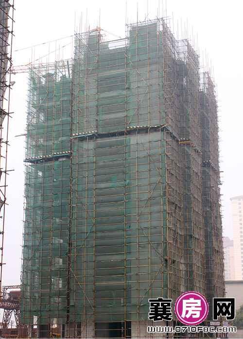 项目2#楼已建至12层(2015.10.30)