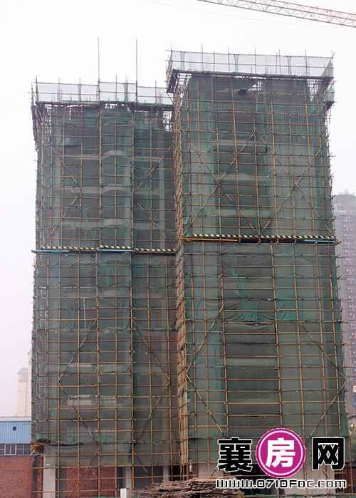 项目3#楼已建至11层