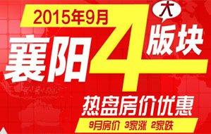 2015年9月襄阳房价及优惠信息一览