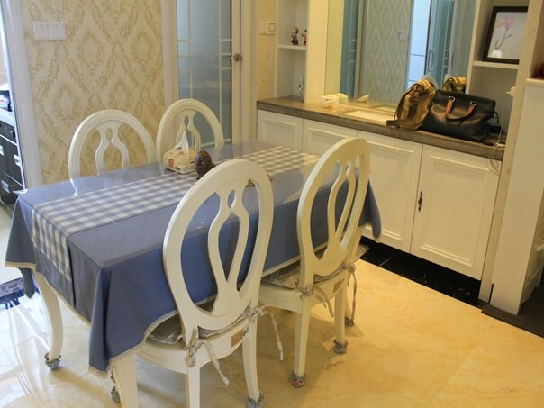 红星国际三居室居室简欧风格装修