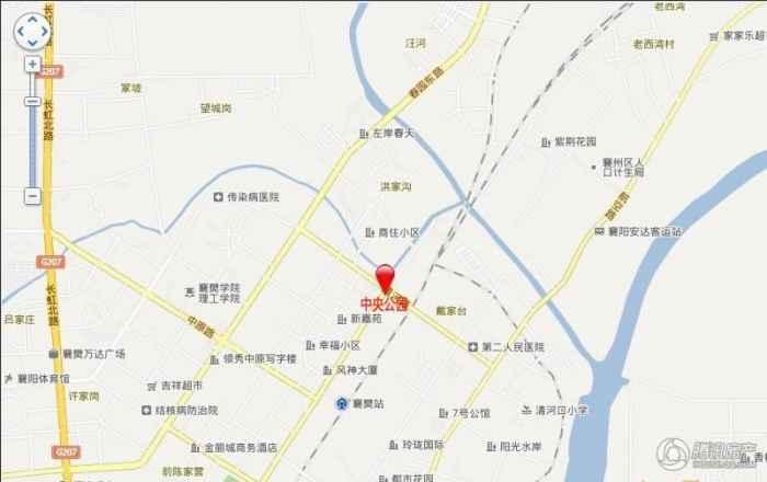 电子地图标示