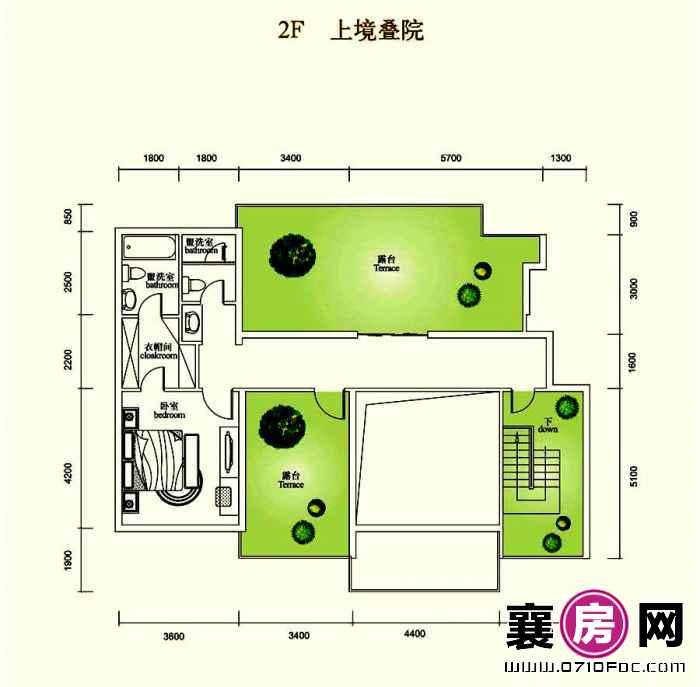 4室2厅2F