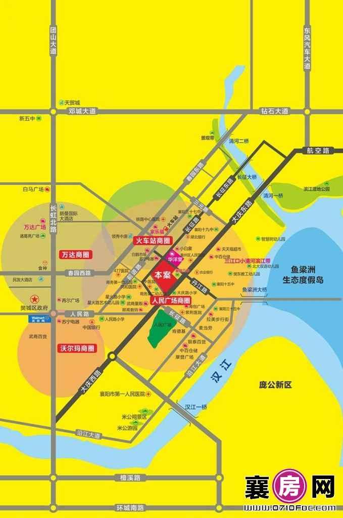 昊天广场区域图