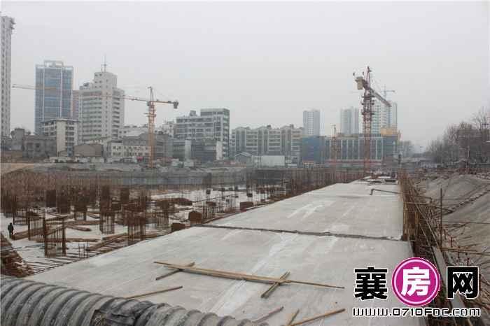 昊天广场最新工程进度(2016.2.24)
