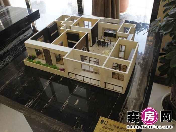 洋房C户型模型(2016-3-10)