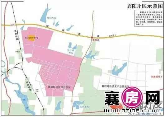 襄阳自贸区规划图