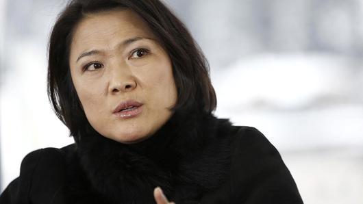 SOHO中国CEO张欣