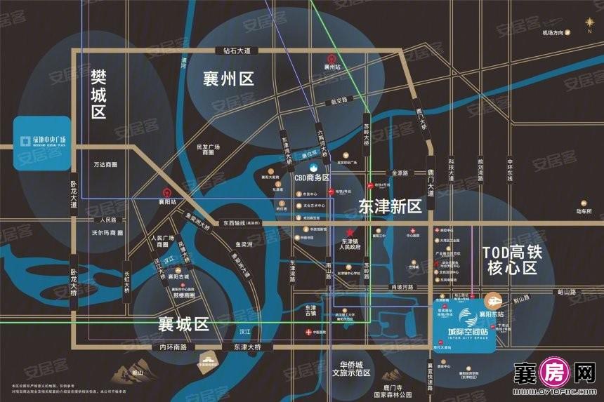 绿地襄阳城际空间站